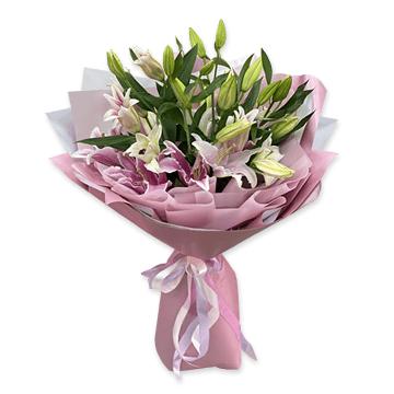 Blumenstrauß aus Lilien