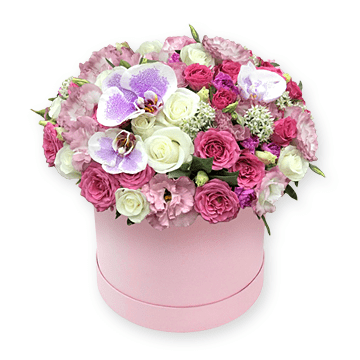 Flowers in box