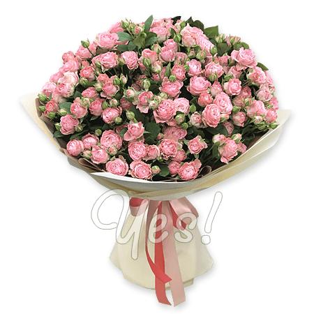 Букет из кустовых роз в Киеве